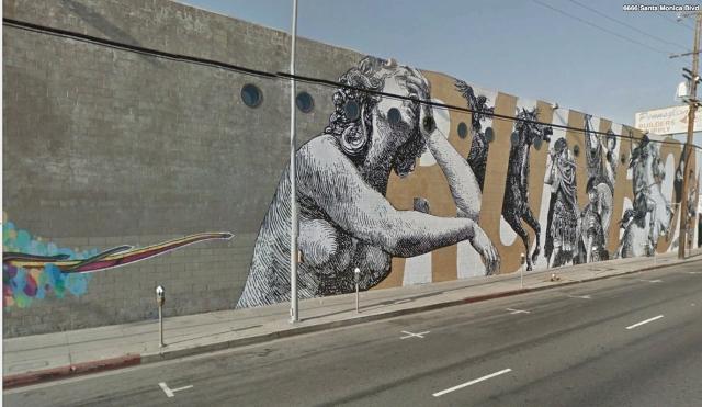 Santa Monica mural
